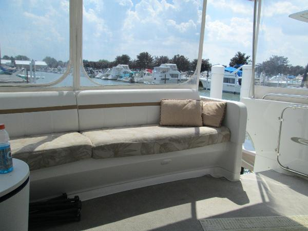 Aft Deck Bench with storage below