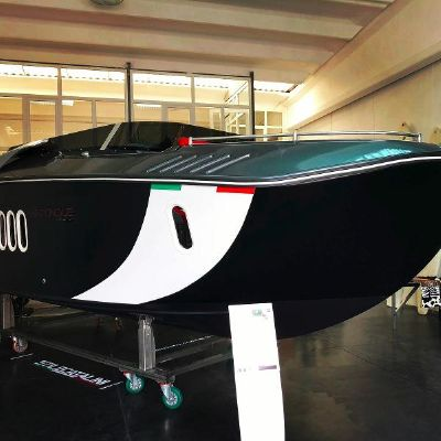 Stilecatalini Venticinque Coupe Gasoline 1 Engine