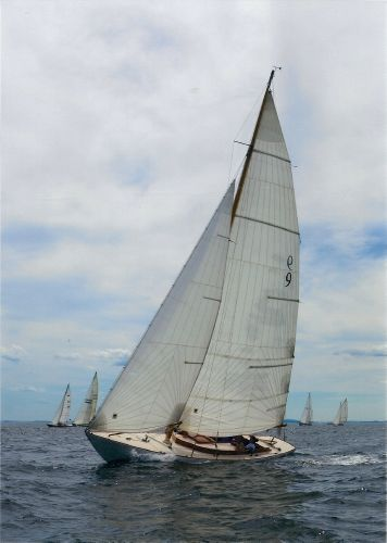 Herreshoff Buzzards Bay Buzzards Bay 25 Eclipse Undersail