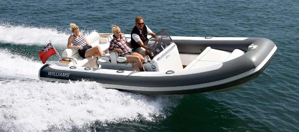 Williams Jet Tenders Dieseljet 565 Williams Jet Tenders Dieseljet 565