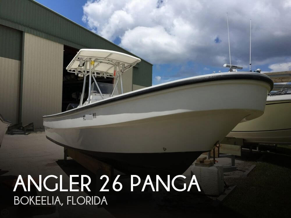 Angler Boats 26 Cc Panga 2007 Angler 26 Panga for sale in Bokeelia, FL