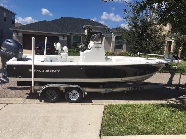 Sea Hunt 22 Bx Bay Boat