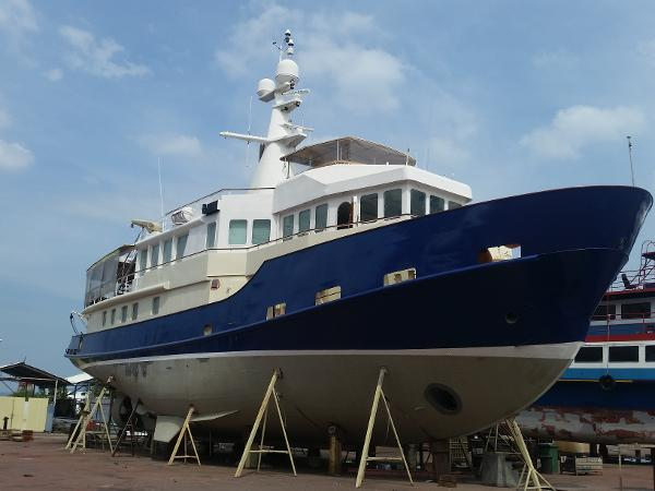 Expedition Vessel /  Converted Baltic Seatug March 2017