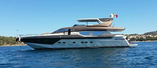 Pershing Azimut Ferretti   Rizzardi Technema 80  Posillipo Technema 80