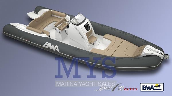 BWA Nautica 26 GTO SPORT SPECIAL EDITION NEW BWA 26 GTO SPORT (1)