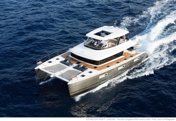 Lagoon 630 Motor Yacht Manufacturer Provided Image: Lagoon 630