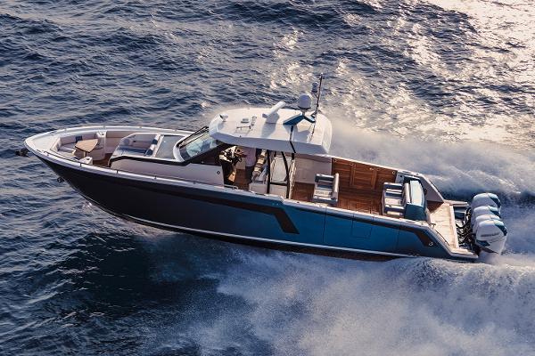 Ocean Alexander 45 Divergence Sport Manufacturer Provided Image