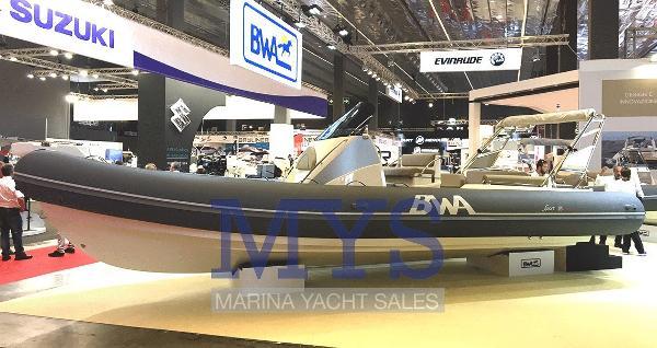 BWA Nautica 28 GTO 1C - GTO 2C SPORT SPECIAL EDITION NEW BWA 28 GTO SPORT