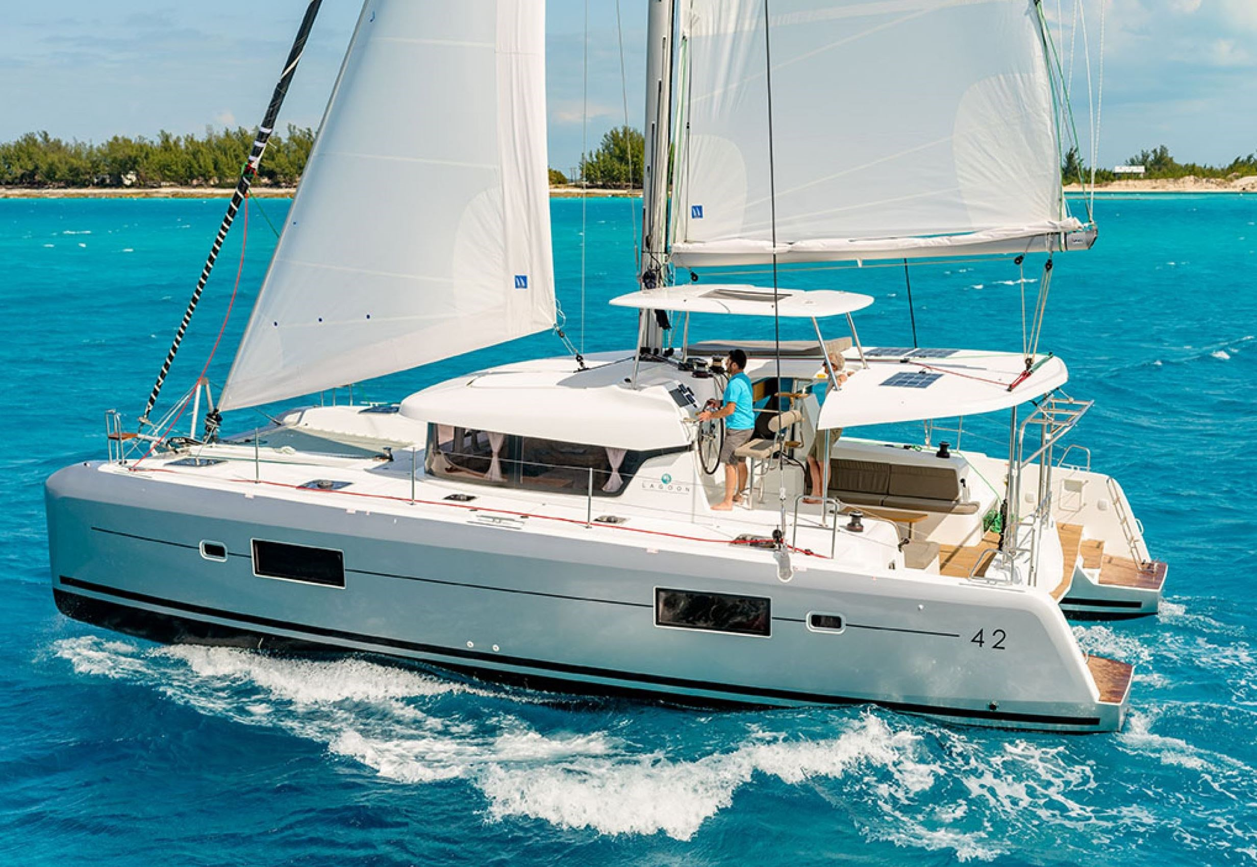 Lagoon 42 Charter Ownership