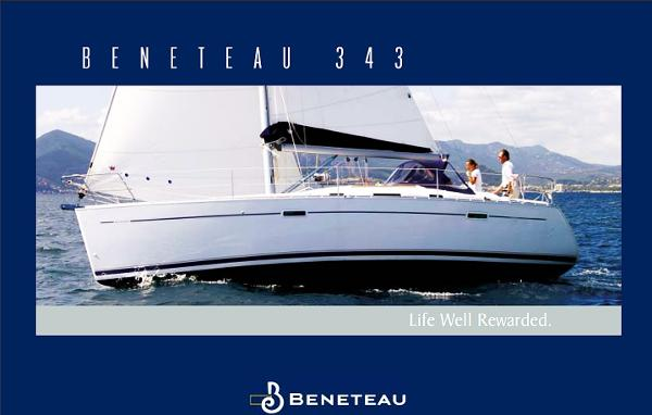 Beneteau 343 Factory Brochure