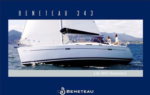 Beneteau 343 Factory Brochure