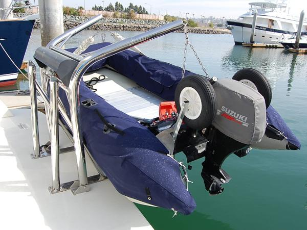 Custom Dinghy Davits