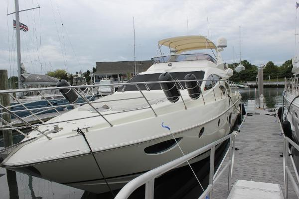 Azimut 62E Port view