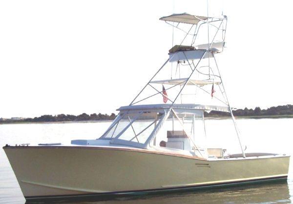 Custom Palm Beach 30 Profile w/ Buggy Top