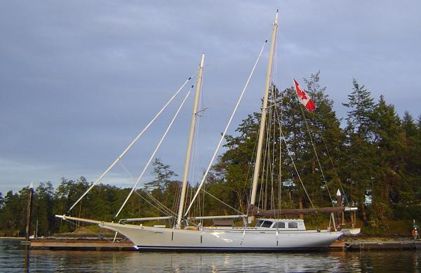William Garden Schooner Yacht Custom