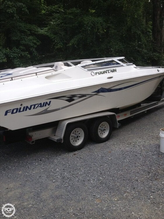 Fountain 27 Fever 2005 Fountain 27 for sale in Wirtz, VA