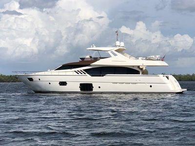 Ferretti Yachts Motor Yacht Flybridge Janus Navem, 870 Ferretti Profile