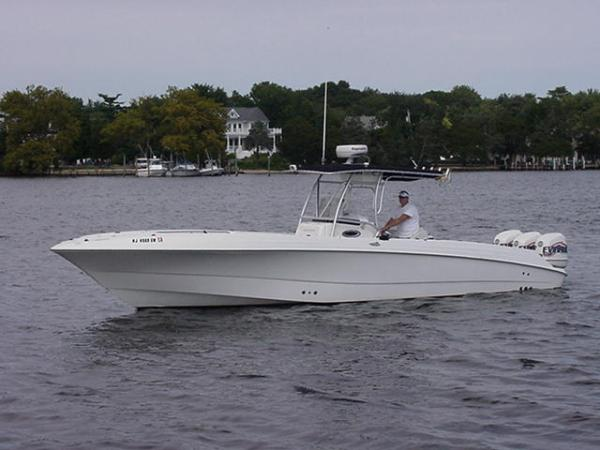 Wellcraft Scarab CCF open center console