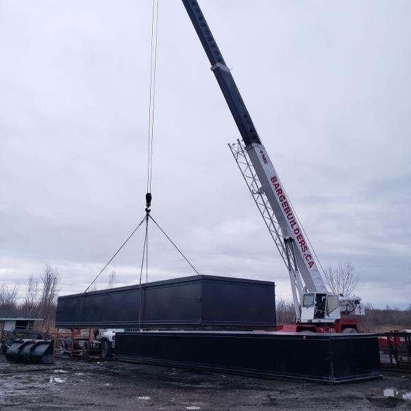 Custom Sectional steel barge