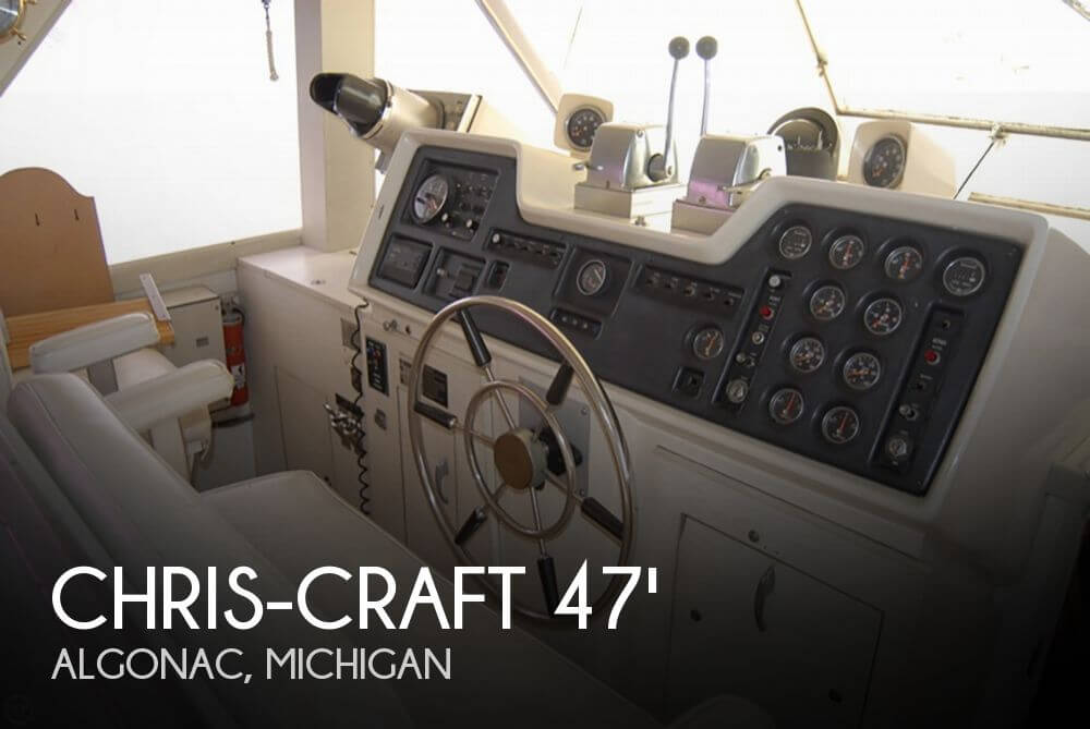 Chris-Craft 47 Commander 1972 Chris-Craft 47 Commander for sale in Algonac, MI