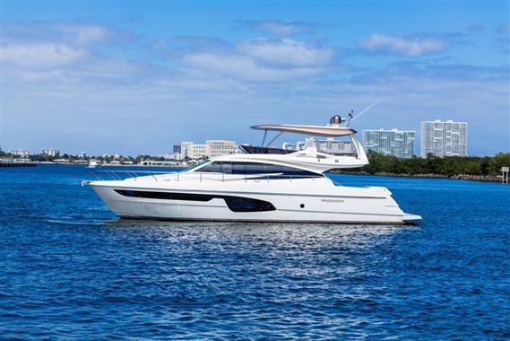 Ferretti Yachts 650 Profile