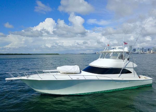 Viking 2014 66 Viking Convertible Port Profile
