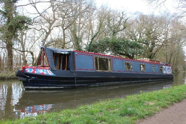 Lambon 57' Semi Trad Narrowboat