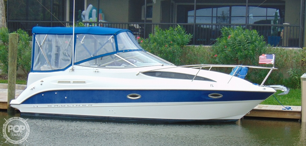 Bayliner 265 Sb 2004 Bayliner 265 Cruiser for sale in Palm Coast, FL