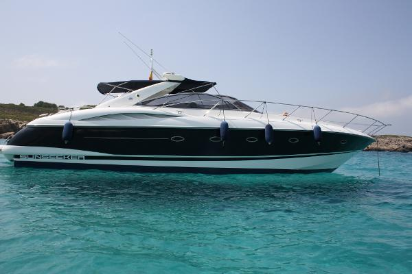 Sunseeker Camargue 50 Side profile