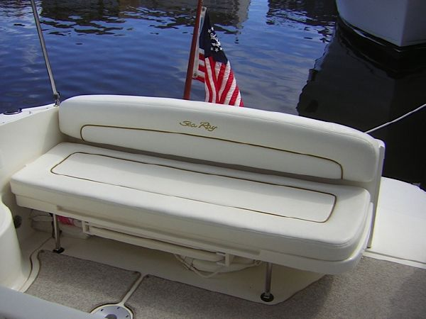 Aft Deck Bench Seat