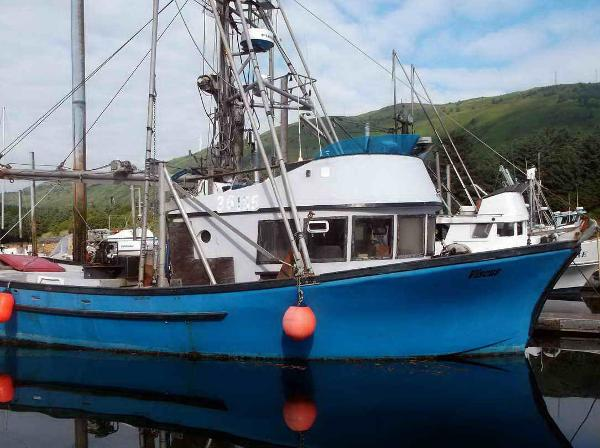 Commercial Fishing Longliner - Combo Crab, Salmon Seine