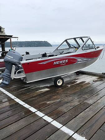 Hewes 16 Sportsman 2015 Hewescraft 16 for sale in Langley, WA