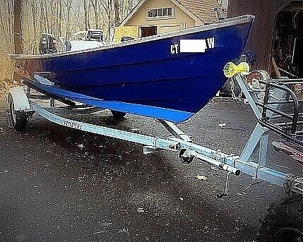 HOLBY MARINE 17 Bristol Skiff 2000 Holby Marine 17 Bristol Skiff for sale in Woodbridge, CT