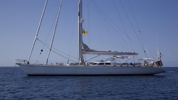 Sangermani Custom Farr 92 Sangermani Farr 92 sail yacht for sale in Mallorca