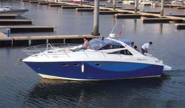 Allmand Yachts Sports Cruiser 35