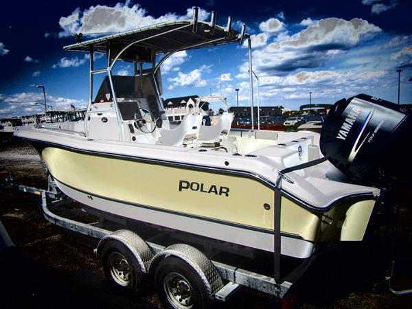 Polar Boats 21 center console
