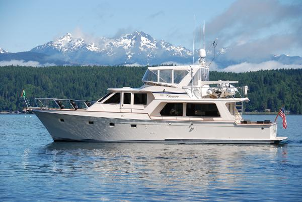 Offshore Pilothouse Profile Hood Canal