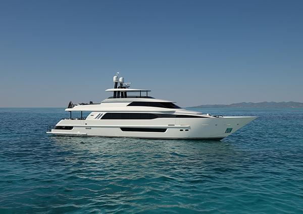 Crescent Custom Fast Pilothouse Yacht CRESCENT 117 EXTERIOR
