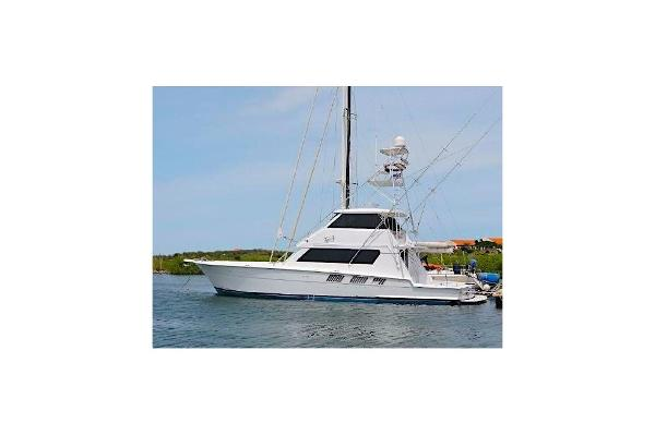 Hatteras Convertible Enclosed Bridge