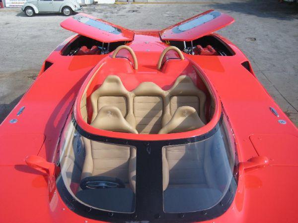 Mti 44RP F440 (Ferrari Theme Boat)