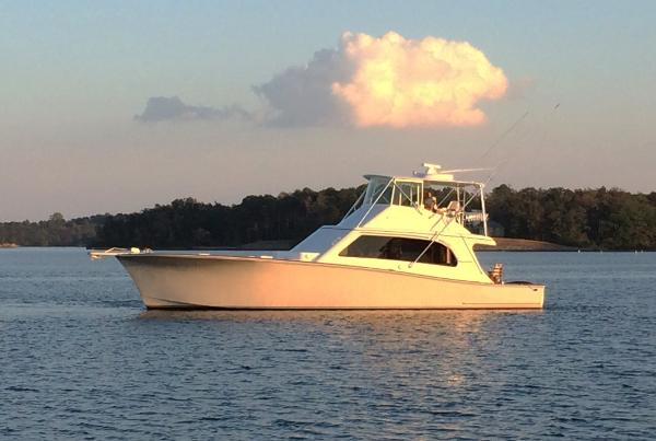 Tiffany 56 Sportfish Tiffany 56 Profile Port Side