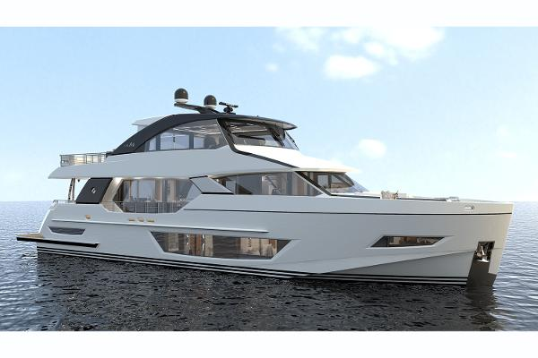 Ocean Alexander 84R Enclosed Bridge Motoryacht
