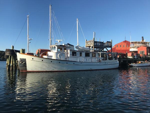 American Marine Custom Trawler Yacht