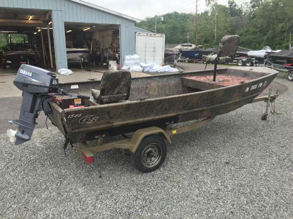 G3 Boats Welded Jon - 1548VBW
