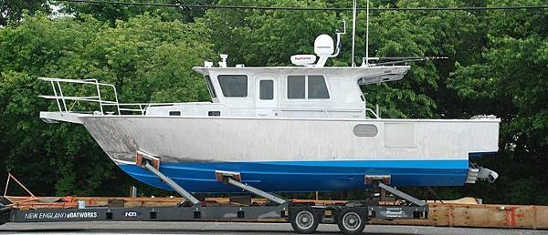 Hunt 35 Cust Alum Sportfish/Cruiser
