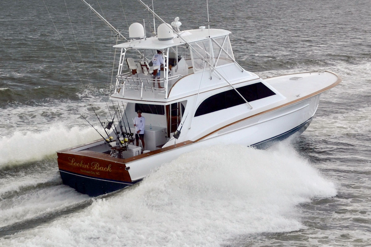 Jarrett Bay 58 Custom Carolina Convertible