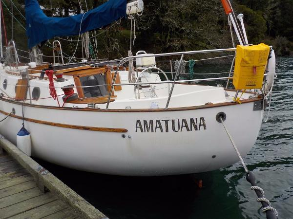 Westsail 43 Canoe Stern