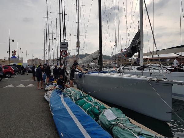 Judel and Vrolijk Ker Custom ORC/IRC Race Yacht