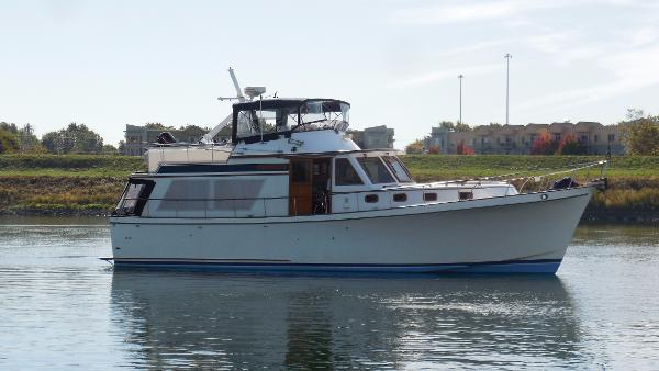 Chb pilothouse 45' CHB