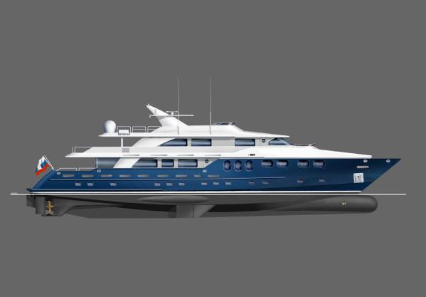 Bray Yacht Design Motoryacht